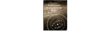 NRB - Professional Notary Records Book